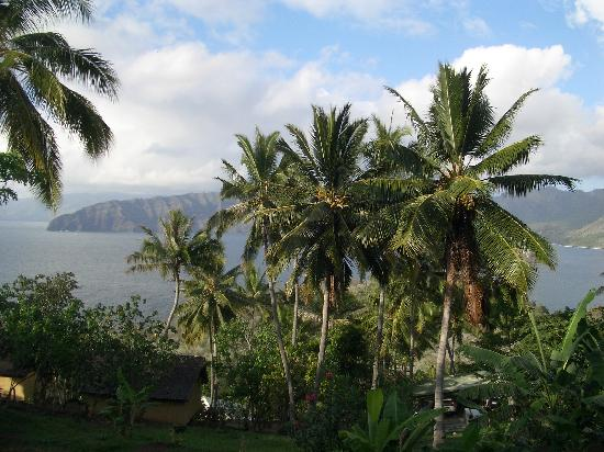 Hanakee Hiva Oa Pearl Lodge : vue chambre