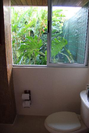 Terrazas de Golf Boutique Hotel: Toilet with a view!