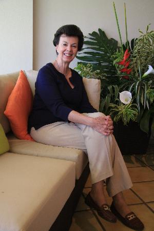 Terrazas de Golf Boutique Hotel: Cecilia - the gracias hostess