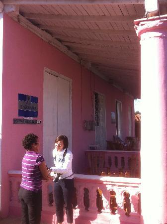 Casa Barbara: House entrance