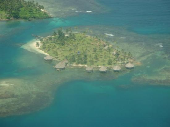 Yandup Island Lodge: Aerial View