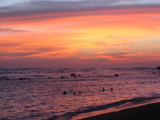 Royal Decameron Salinitas: Our last sunset spectacular!!!!
