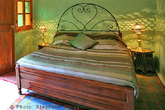Riad Essaoussan: chambre pistache