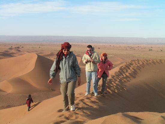 Riad Essaoussan: desert excursion