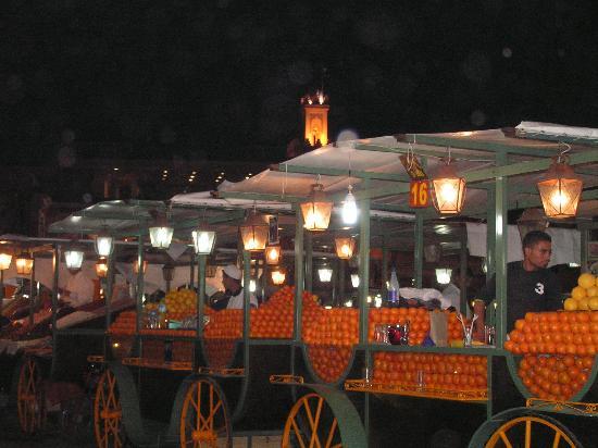 Riad Essaoussan: jus d'orange