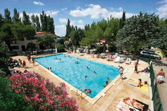 Camping Le Rebeau : Swimming pool