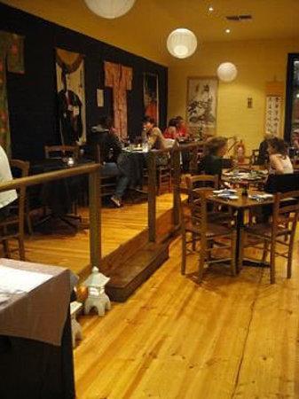 Kazu: Interior of restaurant