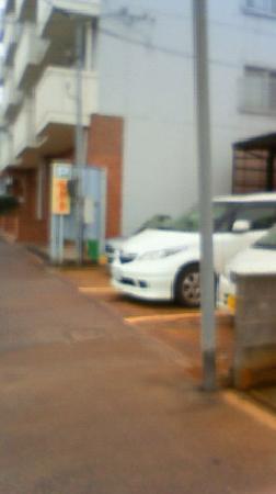Anpukutei : 駐車場