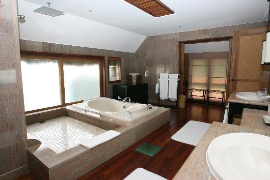 The St. Regis Bora Bora Resort: Shower