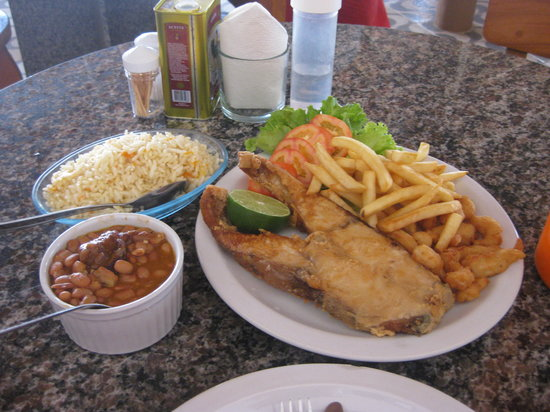 Mama Pereira: Peixe frito...irresistível.....