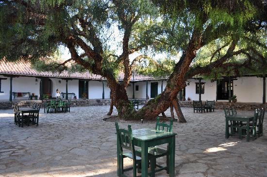 Hacienda de Molinos: Patio