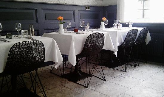 Gedekte tafels in Deeg