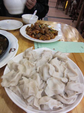 Songhuajiang Dumpling Restaurant(Wuyi): 水餃子
