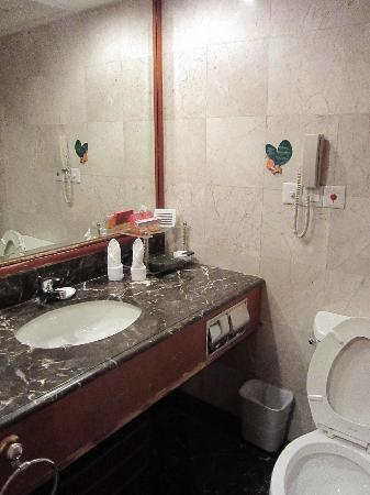 Hunan Bestride Hotel: 歯ブラシなどお金が必要(1元)