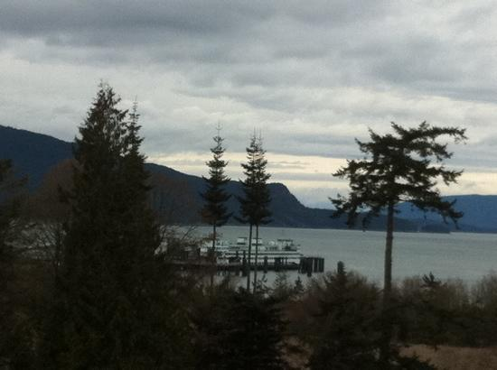 Anacortes Ship Harbor Inn: Another view from our room.
