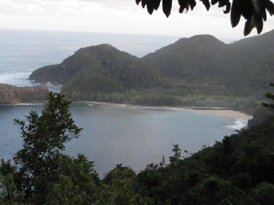 Bahia de Baler: ask permission from bahia to visit this cove