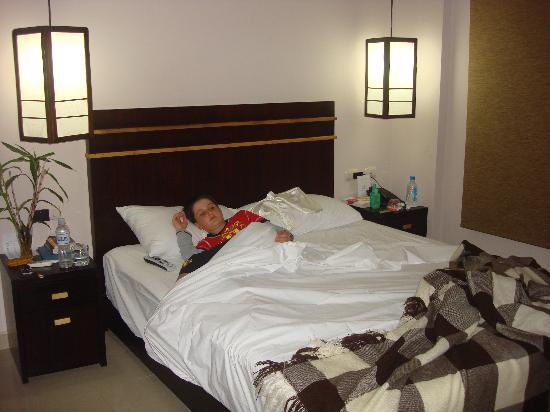 Nazo Hotel : en la habitacion