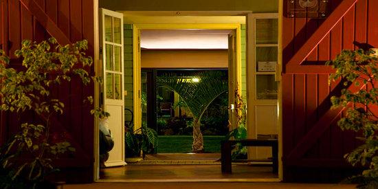Entre-Deux, Reunión: Accueil Hotel Restaurant