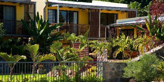 Entre-Nous Restaurant Dimitile Hotel : Jardin du Restaurant Entre Nous