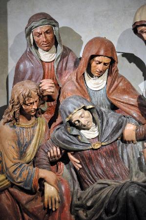 Sacro Monte di San Vivaldo: De beelden geven prachtige uitdrukkingen weer