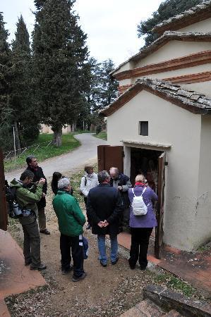 Sacro Monte di San Vivaldo: Kleinste kapel waarin bijzonder element