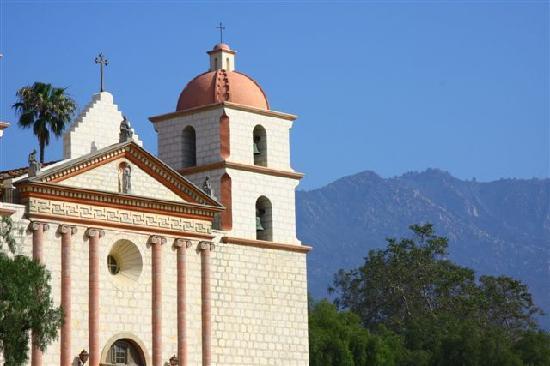Santa Barbara, CA: Missionskirche