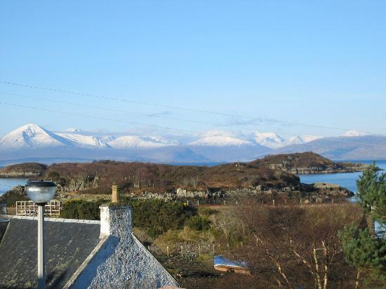Creag Dubh: View from bedroom