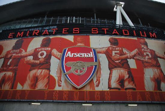 Arsenal Stadium Tours Museum Wall