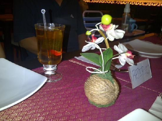Mai Yai Thai Orchid: Peppermint Tea