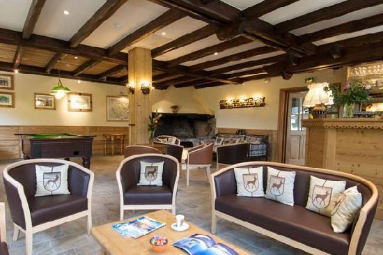 Auberge du Manoir: Lounge