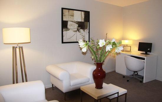 Hotel Burgevin : Salon