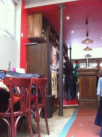 Restaurant Miroir : le bar