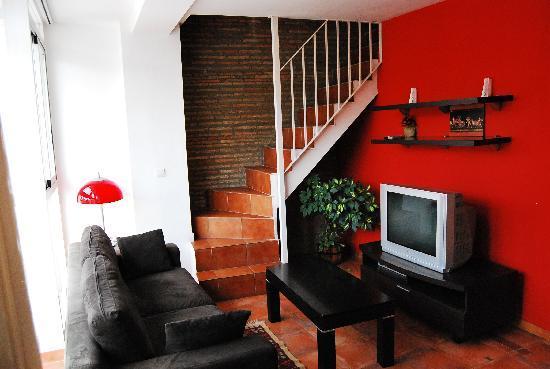 Apartamentos Botanico 29: Salón apartamento dúplex