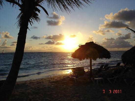 Luxury Bahia Principe Ambar Don Pablo Collection : lever du soleil