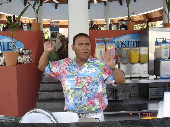 Luxury Bahia Principe Ambar Don Pablo Collection : barmaid piscine