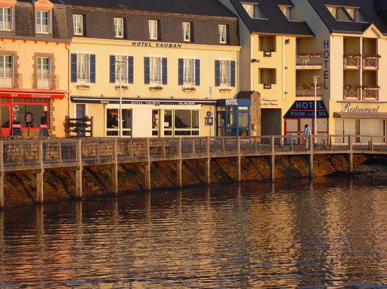 Hotel Vauban : côté mer