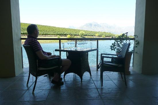 Sansibar: the terrace