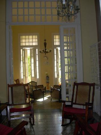 Casa Amada &  Malecon House: il salotto con veranda