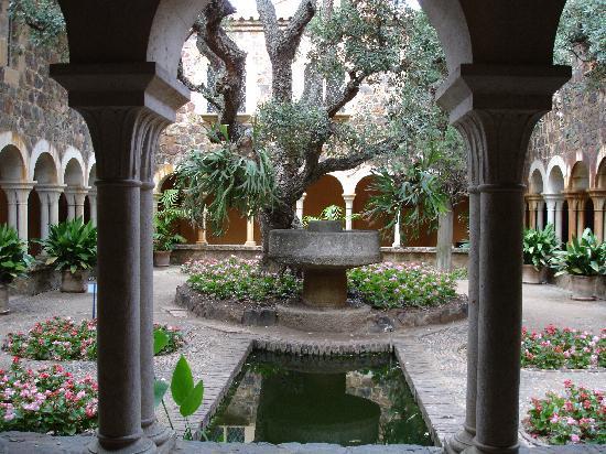 Jardín Botánico de Cap Roig: Centre du château