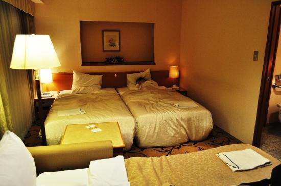 Hotel Rose Garden Shinjuku: Our Room