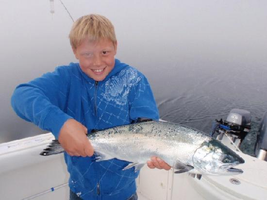 Leisure Suit Charters: First Salmon