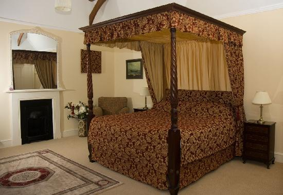 The Old Rectory Country House Bed and Breakfast: Dorchester bedroom