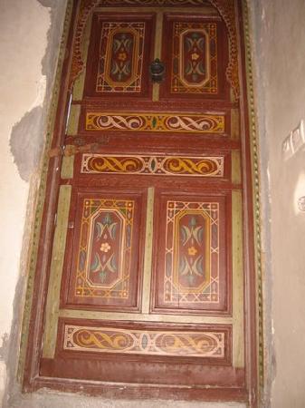 Riad La Cigale: Puerta de entrada
