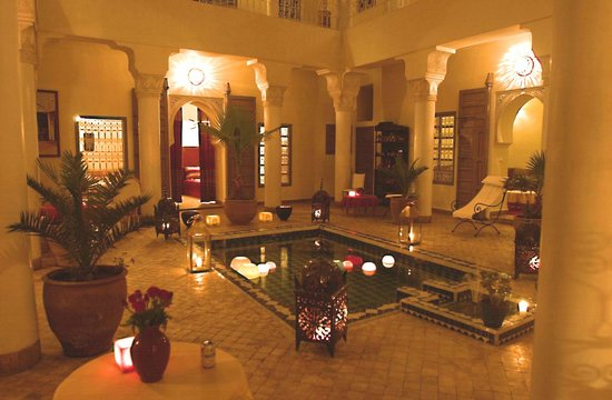 Origin Hotels Riad El Faran: patio de nuit