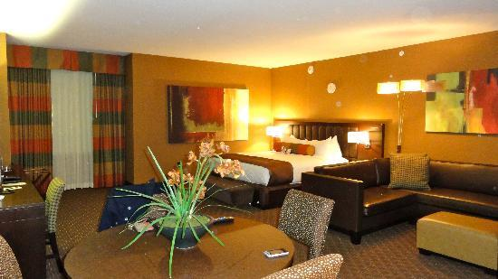 Golden Nugget Hotel: View of our Suite