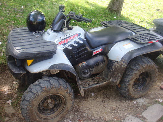 ATV Paradise Tours: 330cc Quad