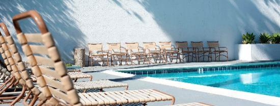 Orange Tree Inn: Pool Deck