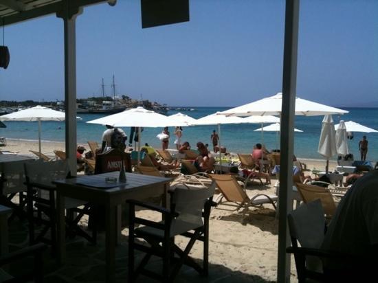 Ostria Cafe Restaurant: utsikten