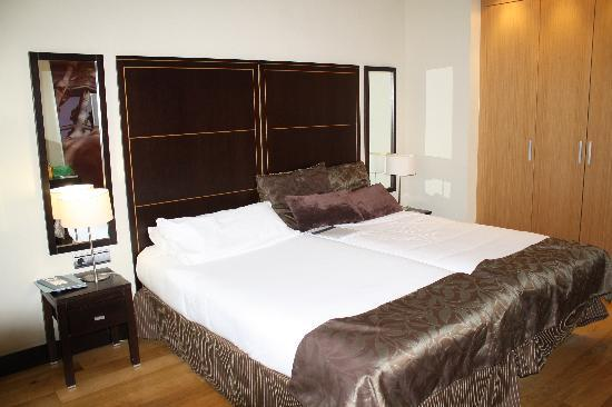 view from our room picture of eurostars monumental barcelona tripadvisor. Black Bedroom Furniture Sets. Home Design Ideas