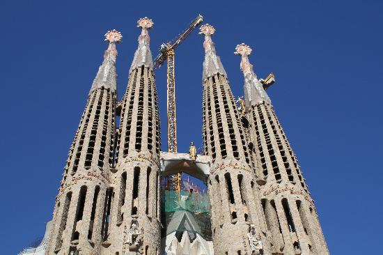 Barcelona, Spain: La Sagrada Familia cathdral